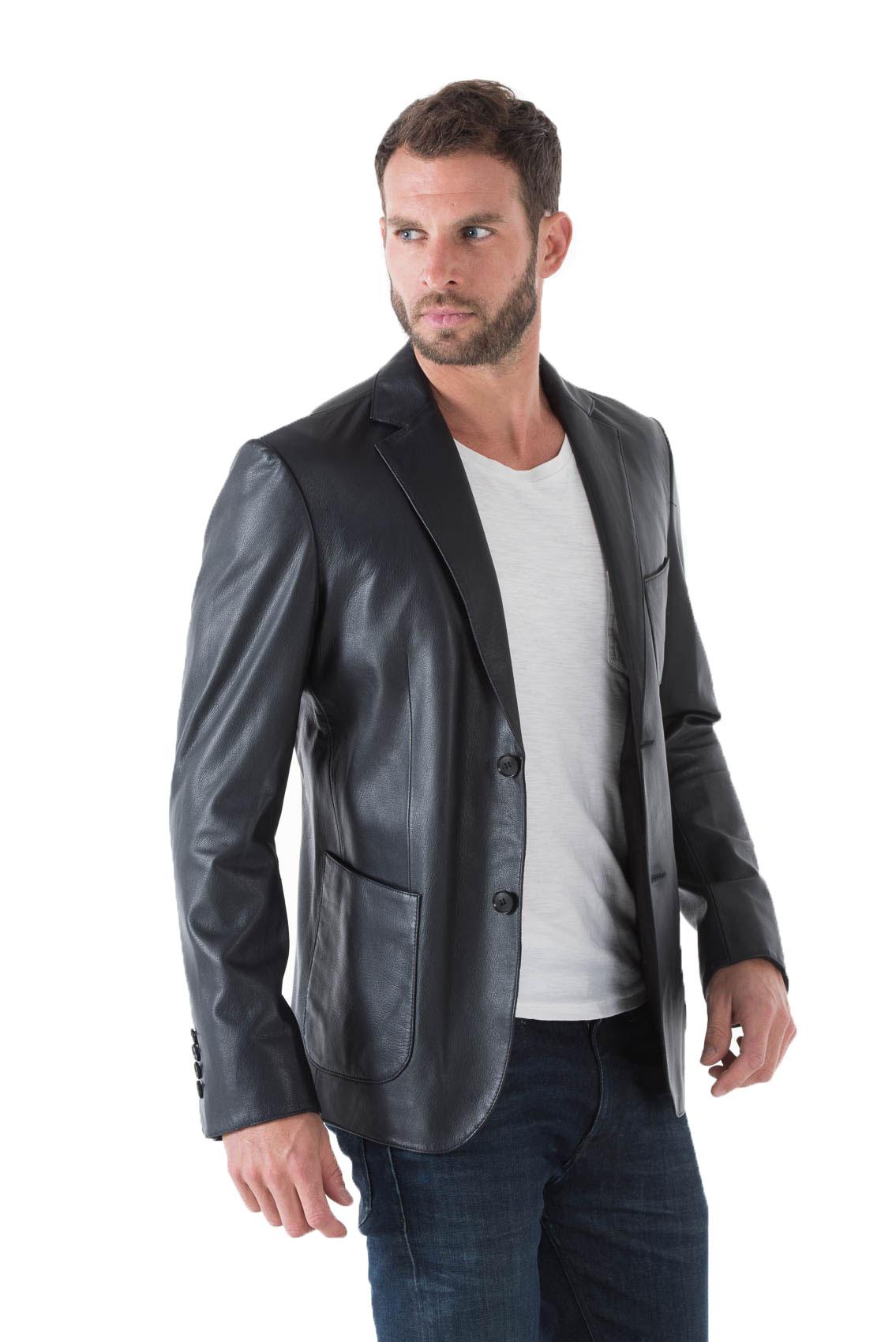 c100b6efa8f2 Découvrez le confort de la technologie Air avec les blazer homme cuir  agneau. Découvrez tous les styles de blazer homme cuir agneau pour hommes,  ...