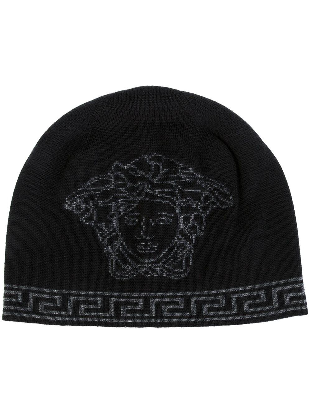 Versace Homme Chapeaux  u0026 Bonnets Bonnet - camello grigio,Versace t  shirt prix, . 202c1ccaa80