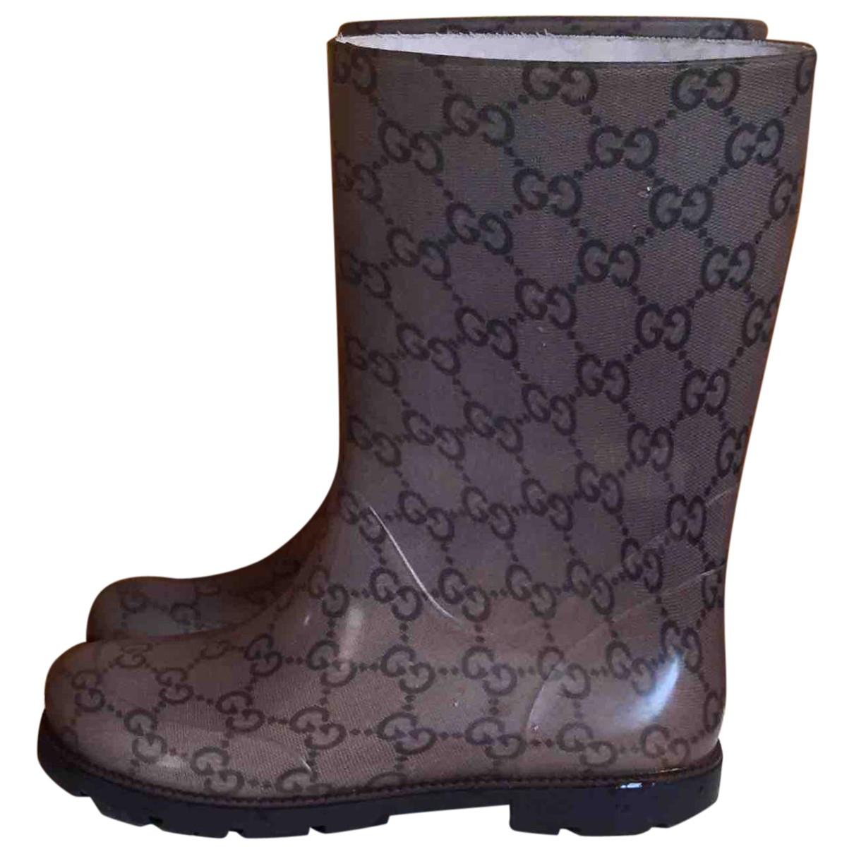 Acheter bottes gucci en caoutchouc pas cher 0d215b4c7b3