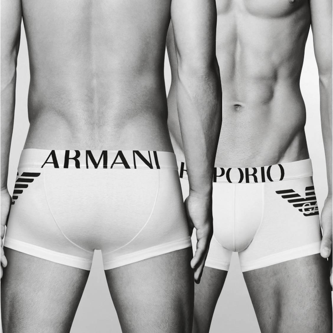 Emporio Armani Lot de 2 boxers unis Bleu Homme Sous-vêtements et Homewear  ... Maillot de bain boxer homme Emporio Armani noir · Emporio Armani ·  Fo5JEA b910b081df6