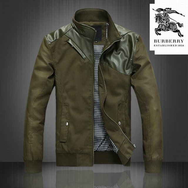 58e9ece372ae Trench-coat en coton avec garnitures en cuir Burberry Homme Vendre Alsace  veste burberry chine,veste burberry cuir,Veste Burberry Homme Pas Cher