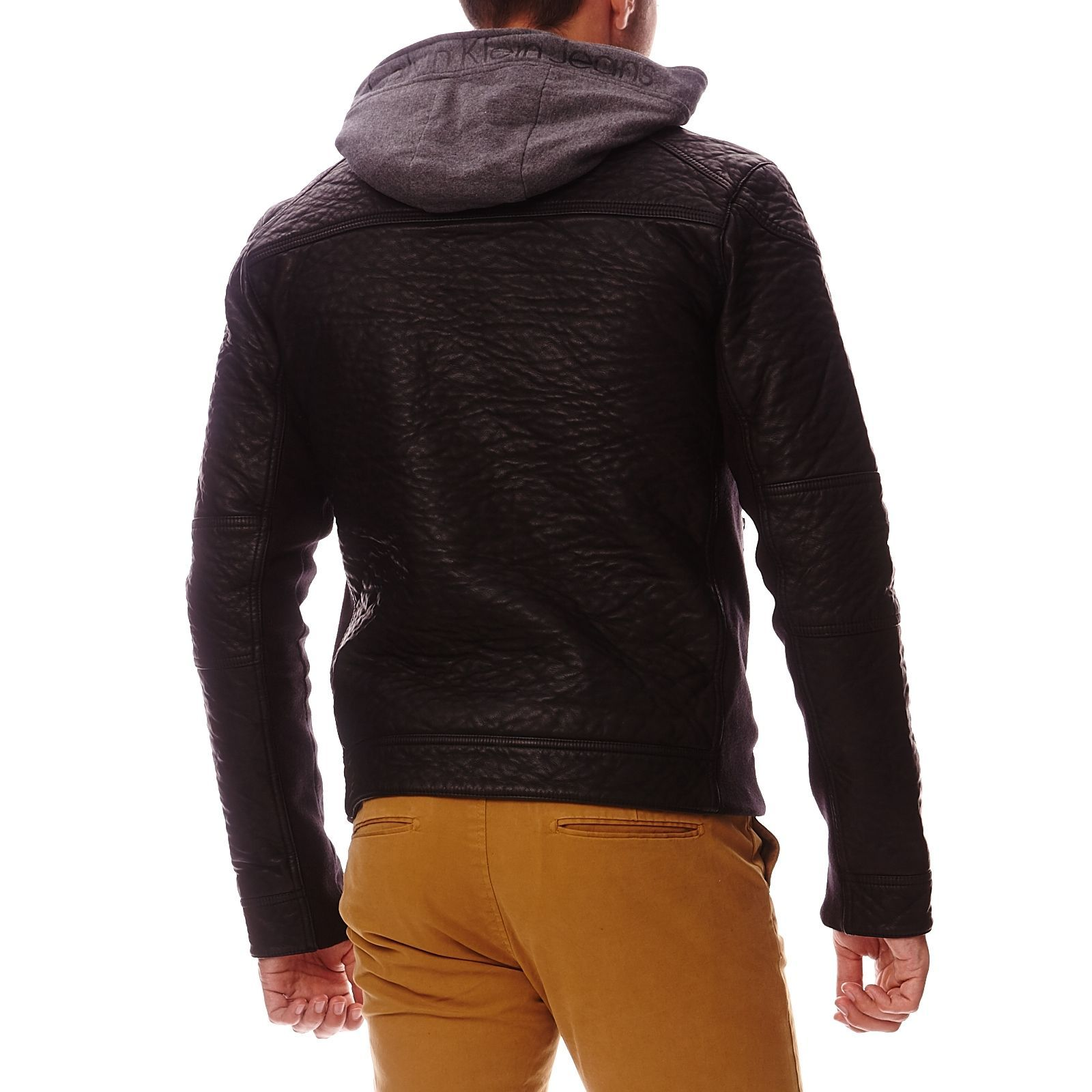 Ou acheter veste en cuir homme
