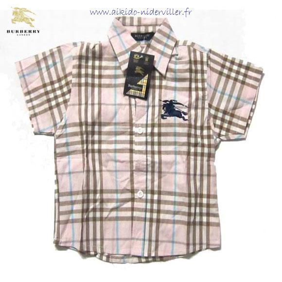 chemise qualite pas cher,chemise burberry grise,chemise noire enfant ...  Burberry - Robe chemise Check - 246611 . 5adaf60b4d2