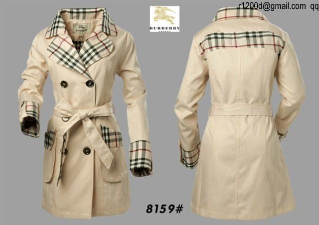 a660875d1e1b Acheter manteau burberry femme pas cher