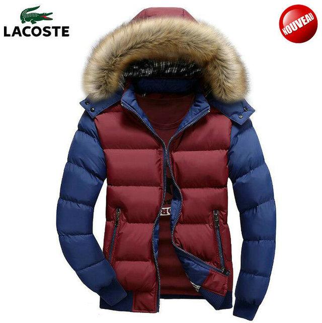 45e9958407 Acheter manteau homme lacoste pas cher
