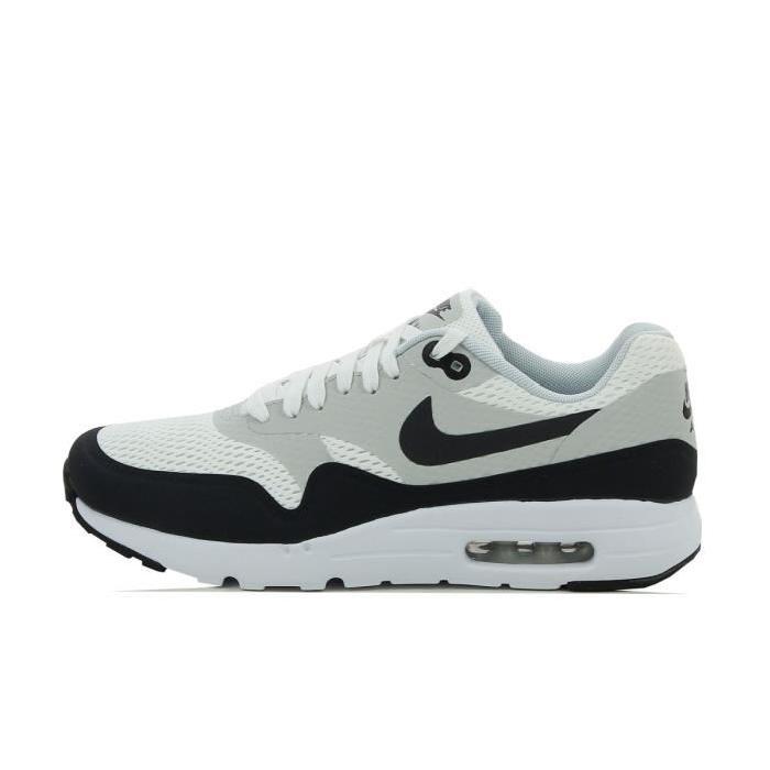 brand new a0a02 1012f Anthracite et grise foncé et blanc et noir homme Nike Air Max 1 Essential  iD sneakers .