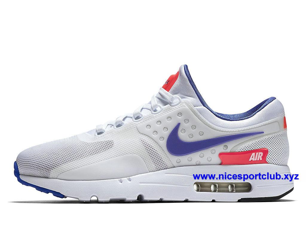 air max zero bleu et blanche
