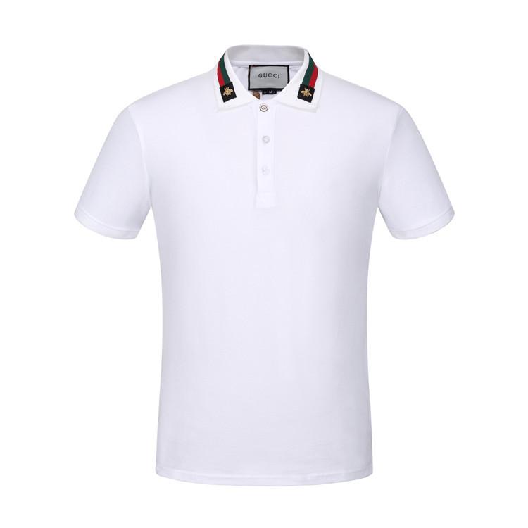 6a2c2f3c98f1 Gucci Web Collar Polo Shirt 6239 Homme Vêtements Polos,chaussures gucci pas  cher,gucci pochette,belle