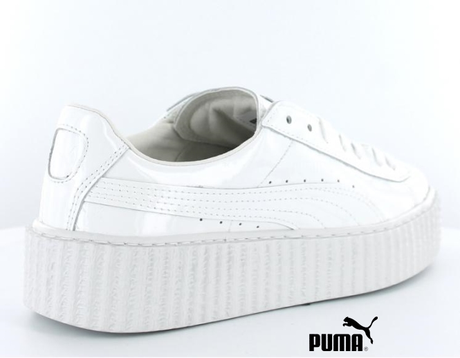 puma blanche creepers