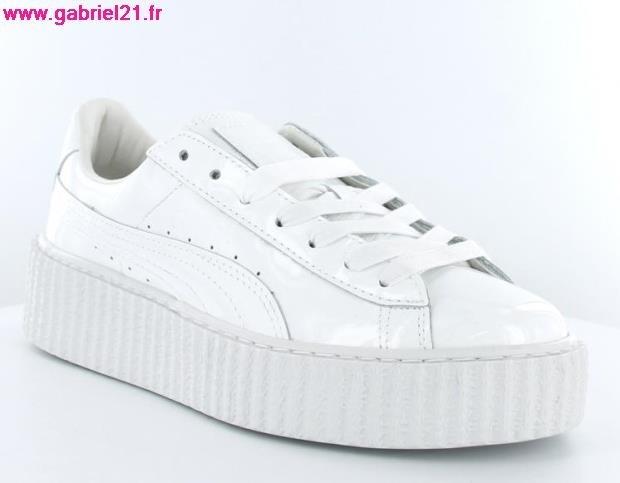 2136401a7c Acheter puma creepers blanche pas cher