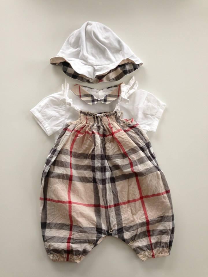 Acheter robe burberry bebe fille pas cher a412420dbe6