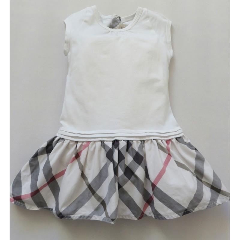 Burberry Short de bain en coton technique à motif check enfant Gar on  Shorts Beige,burberry chemise ... 676f51e3c89