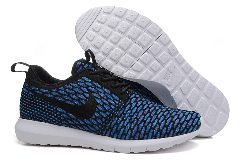 info for 041fb 04411 Nike Roshe Run Flyknit Femmes Chaussures De Ville écarlate Anthracite  677243-602 ... Authentique Roshe Run Flyknit Femme Noir et Gris nike roshe  run femme ...